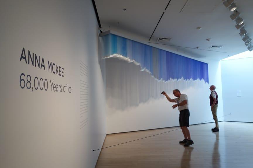 Installation view, Nevada Museum of Art